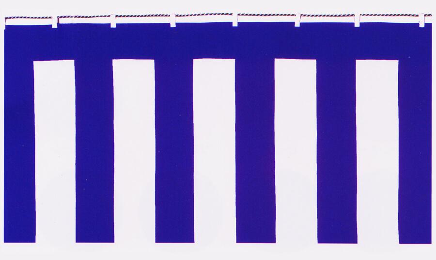 紫白幕のサンプル写真