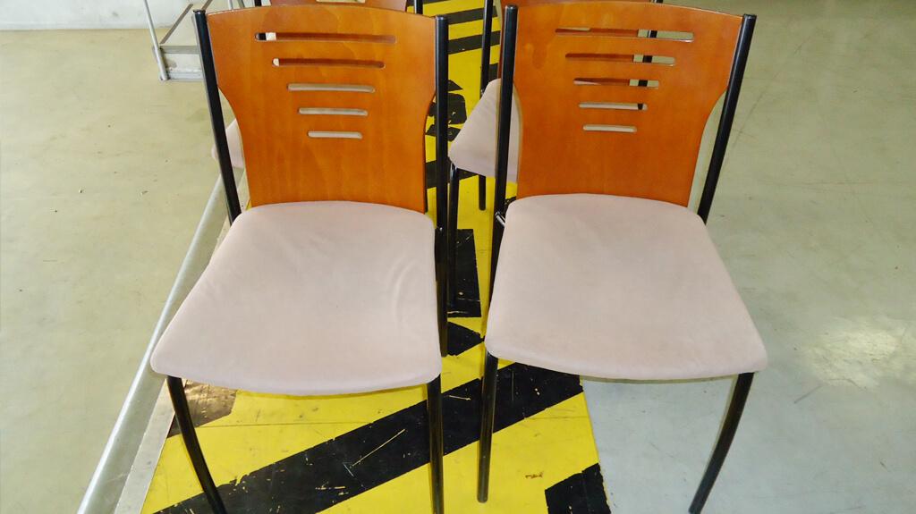 椅子のシート張替えのアフター写真